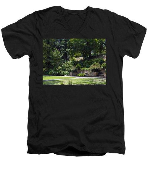 Day At The Park Men's V-Neck T-Shirt