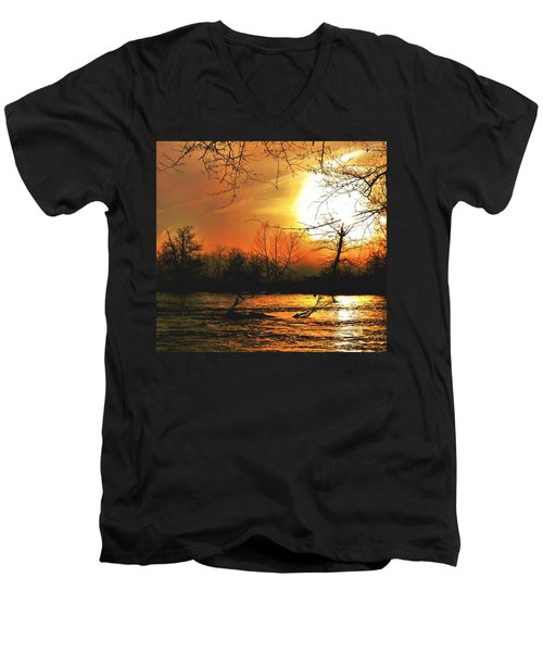 Day Break Men's V-Neck T-Shirt