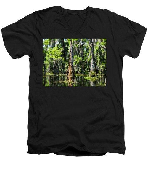 Daylight Swampmares Men's V-Neck T-Shirt