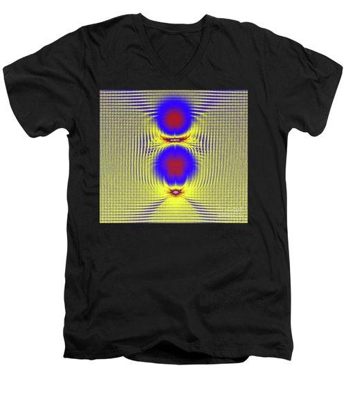 Dazzle Bright Men's V-Neck T-Shirt
