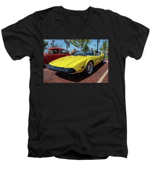 De Tomaso Pantera Men's V-Neck T-Shirt