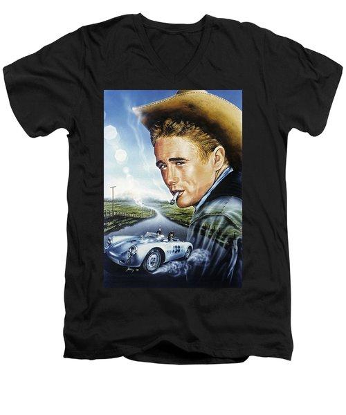 Dean Story Men's V-Neck T-Shirt