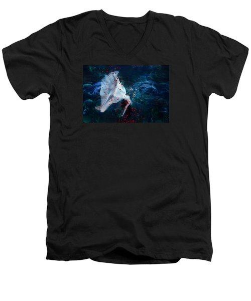 Death Of Ophelia Men's V-Neck T-Shirt