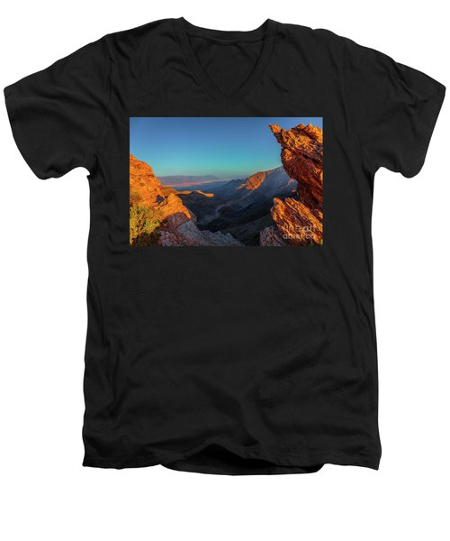 Death Valley 1 Men's V-Neck T-Shirt