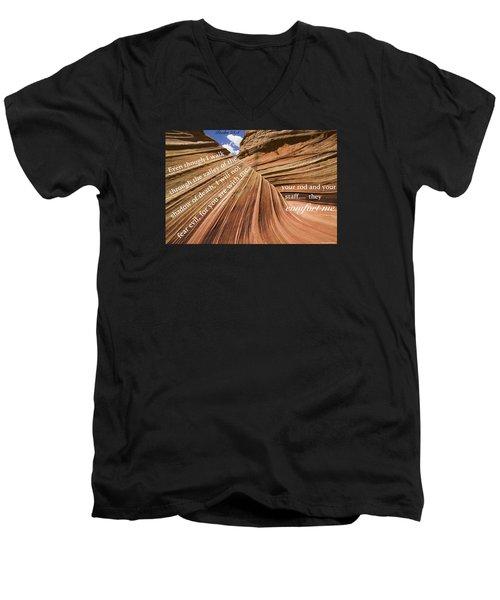 Death8 Men's V-Neck T-Shirt by David Norman