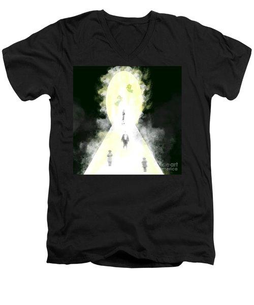 Death's Door Men's V-Neck T-Shirt