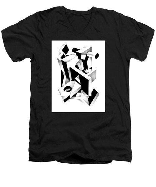 Decline And Fall 11 Men's V-Neck T-Shirt
