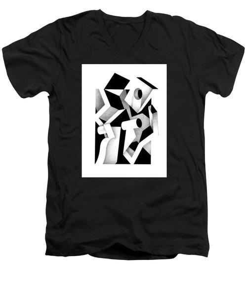 Decline And Fall 17 Men's V-Neck T-Shirt