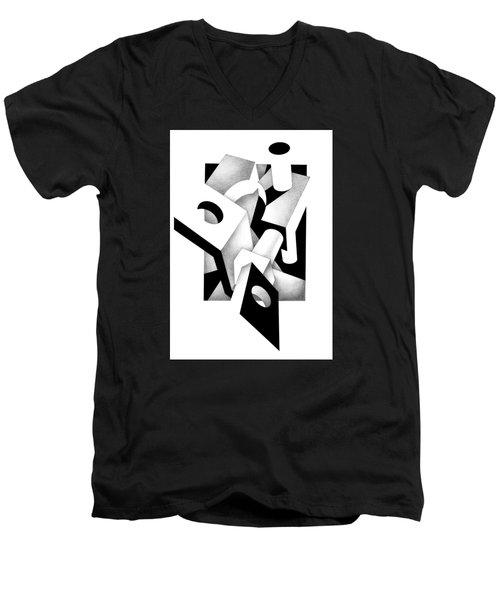 Decline And Fall 2 Men's V-Neck T-Shirt