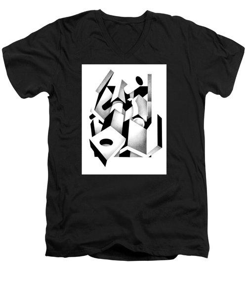 Decline And Fall 6 Men's V-Neck T-Shirt