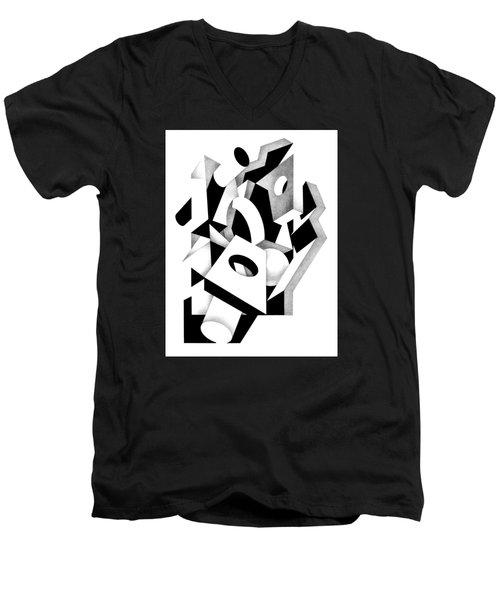 Decline And Fall 8 Men's V-Neck T-Shirt