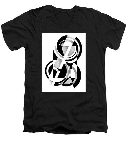 Decline And Fall 9 Men's V-Neck T-Shirt