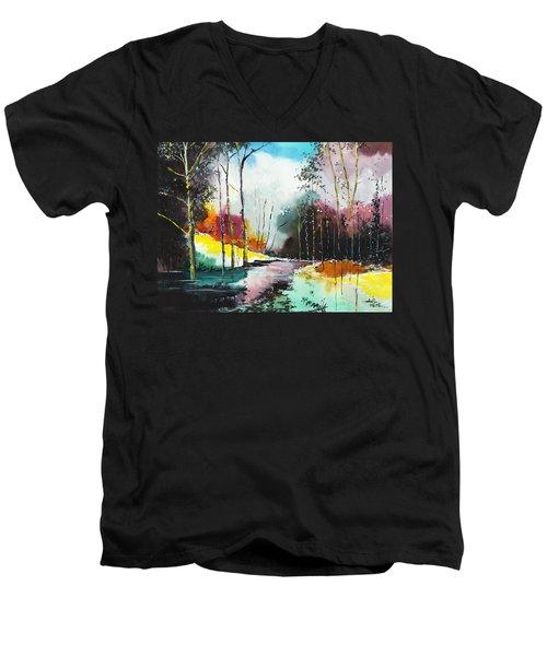 Deep 5 Men's V-Neck T-Shirt