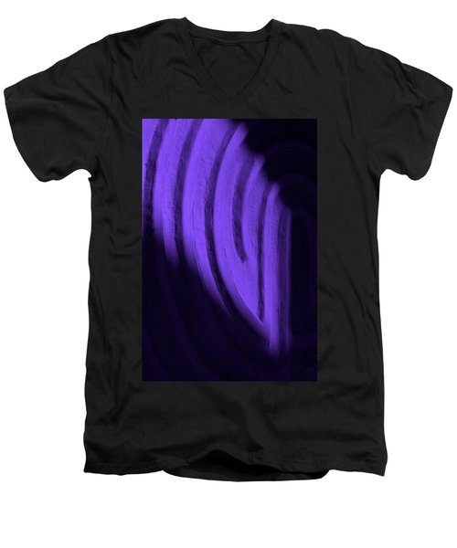 Deep Maze Men's V-Neck T-Shirt