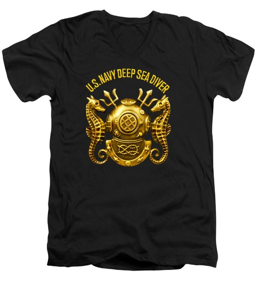 Deep Sea Diver Men's V-Neck T-Shirt