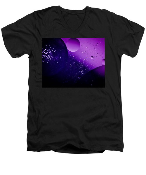 Deep Space Men's V-Neck T-Shirt by Bruce Pritchett