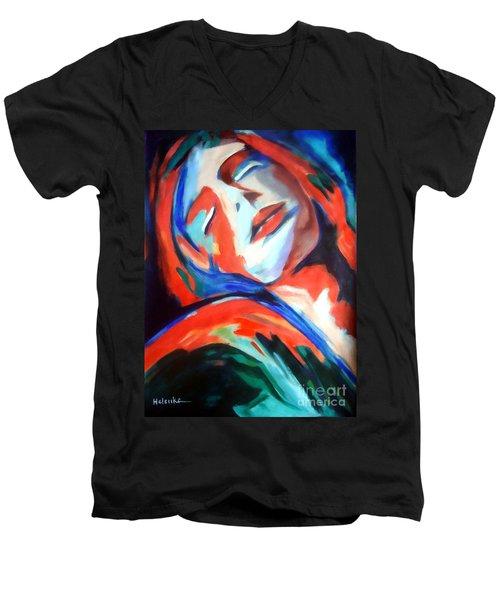Deepest Fullness Men's V-Neck T-Shirt