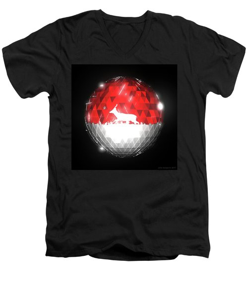 Deer Bauble - Frame 10 Men's V-Neck T-Shirt