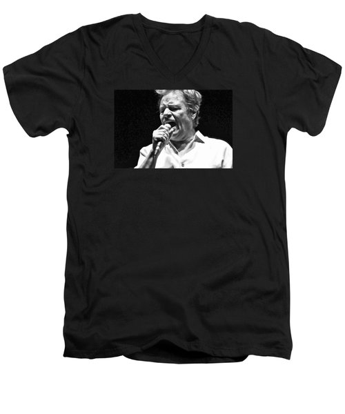Delbert Mcclinton Sings The Blues Men's V-Neck T-Shirt