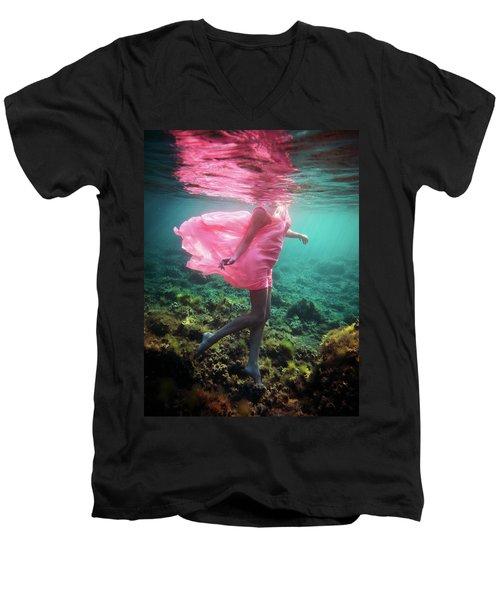 Delicate Mermaid Men's V-Neck T-Shirt