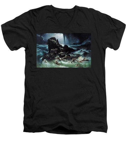 Deluge Men's V-Neck T-Shirt