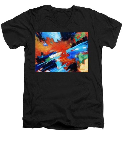 Demo Men's V-Neck T-Shirt