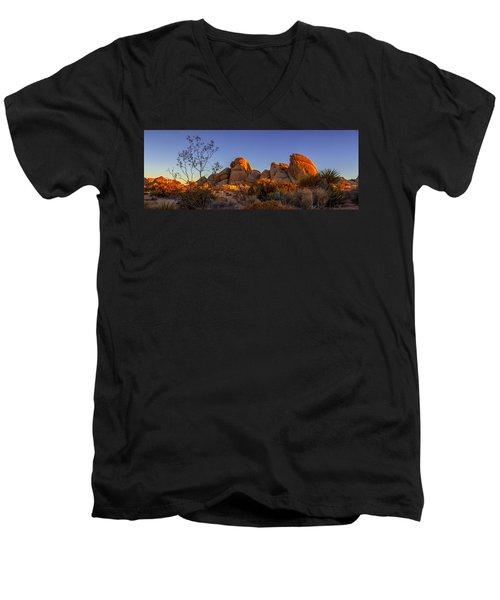 Desert Light Men's V-Neck T-Shirt