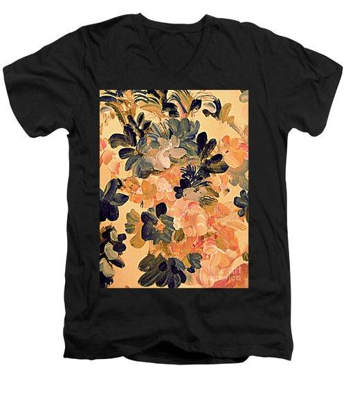 Designing Flowers Men's V-Neck T-Shirt