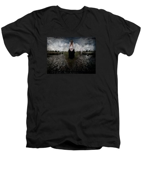 Desire No. 4 Men's V-Neck T-Shirt