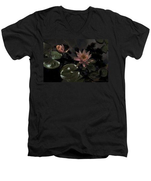 Deuces In The Moonlight Men's V-Neck T-Shirt
