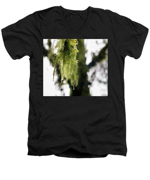Dewy Moss Men's V-Neck T-Shirt