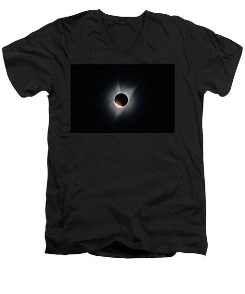 Diamond Ring Men's V-Neck T-Shirt