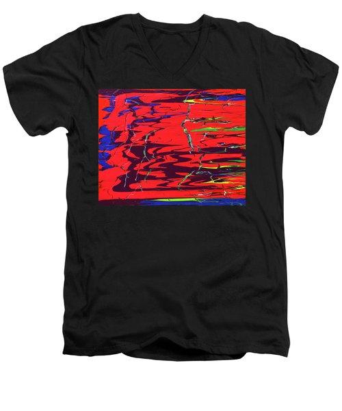 Dichotomy Men's V-Neck T-Shirt