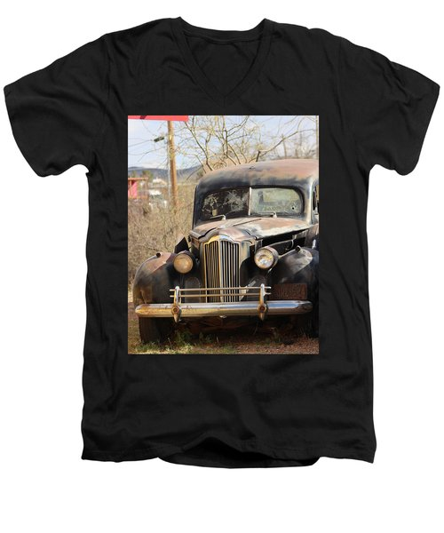 Digger O Balls Funeral Pallor Hearse Men's V-Neck T-Shirt