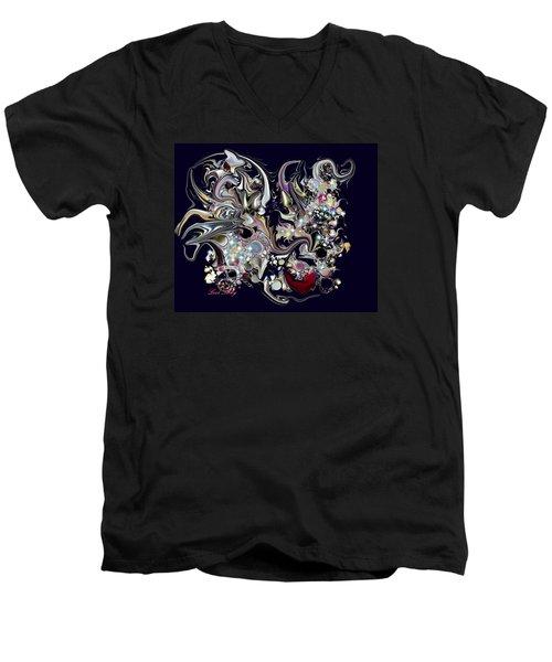 Digitalimage2012c Men's V-Neck T-Shirt by Loxi Sibley