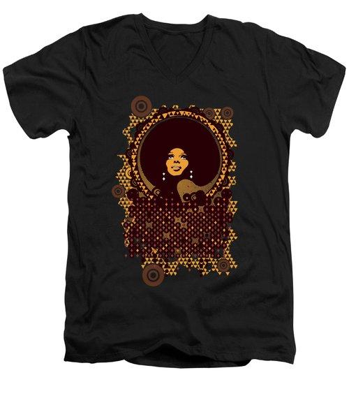 Disco Diva Men's V-Neck T-Shirt