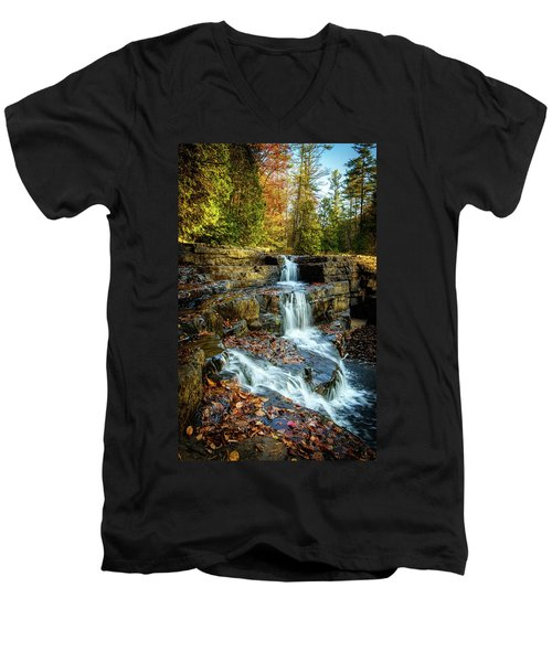 Dismal Falls #3 Men's V-Neck T-Shirt