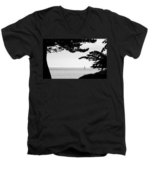 Distant Sails Men's V-Neck T-Shirt