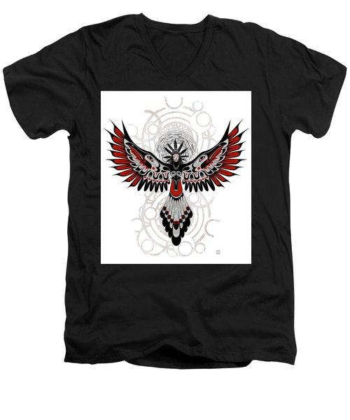 Divine Crow Woman Men's V-Neck T-Shirt