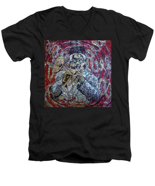 Dizzy Men's V-Neck T-Shirt