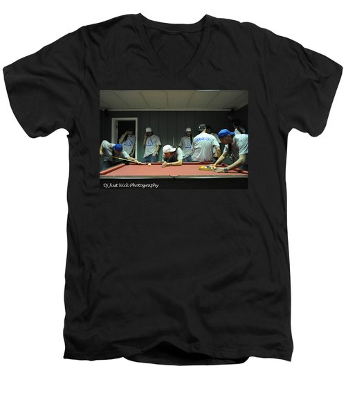 Dj Just Nick Photography Men's V-Neck T-Shirt