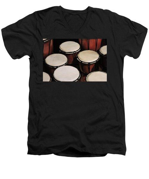 Djembe Men's V-Neck T-Shirt
