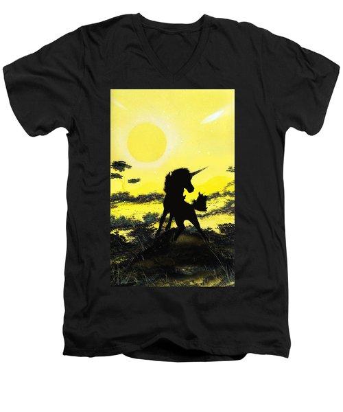 Do You Believe Men's V-Neck T-Shirt