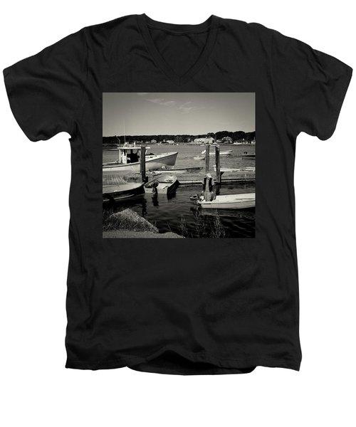 Dock Work Men's V-Neck T-Shirt