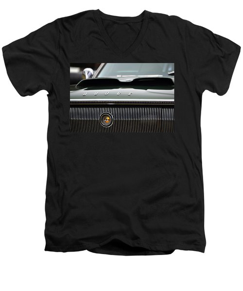 Dodge Charger Hood Men's V-Neck T-Shirt