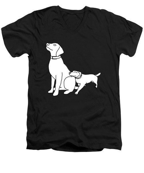 Dog Love Tee Men's V-Neck T-Shirt