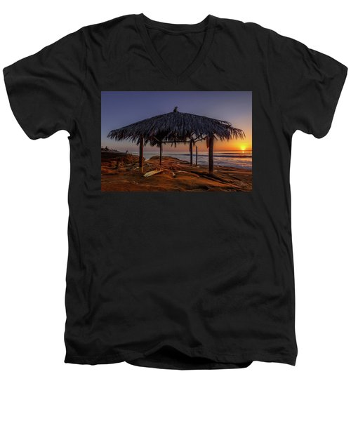 Done For The Day Men's V-Neck T-Shirt