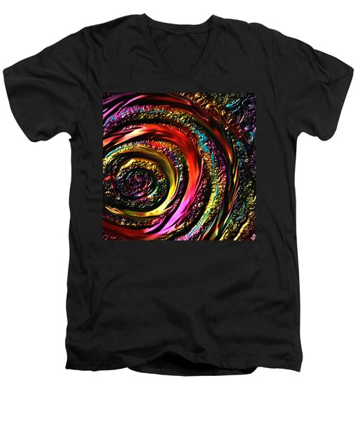 Don't Get Foiled Again Men's V-Neck T-Shirt by Kevin Caudill