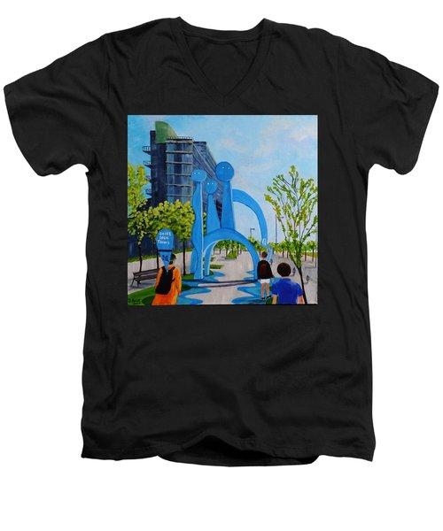 Toronto Canary District - Doors Open Toronto Men's V-Neck T-Shirt