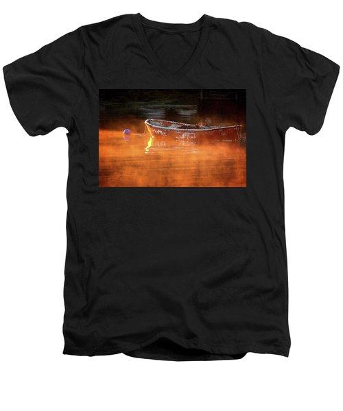 Dory In Orange Mist Men's V-Neck T-Shirt